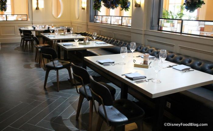 Ale & Compass Restaurant Perimeter Area Seating