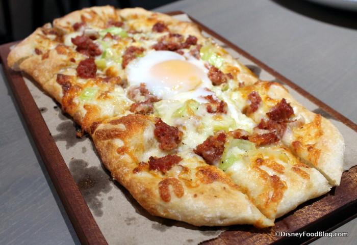 Caramelized Leek and Chorizo Hearth Oven Pie