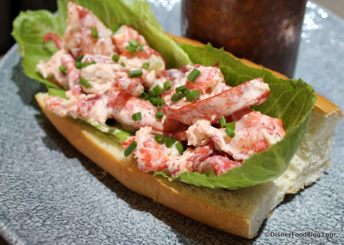 Maine Lobster Roll at Ale & Compass Restaurant
