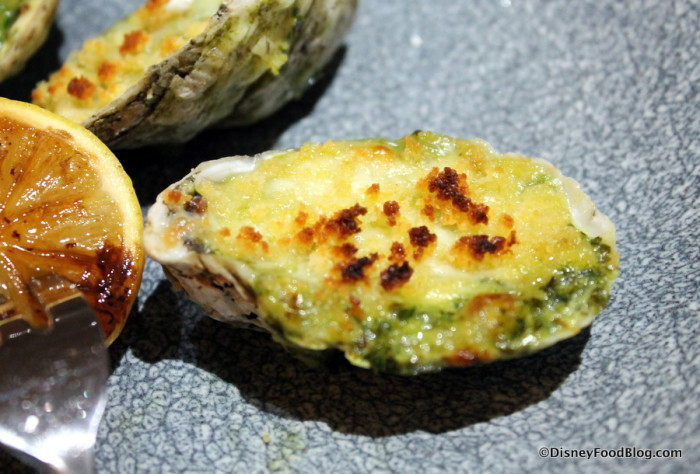 Oven-roasted Oyster