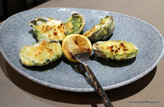 Oven-roasted Oysters