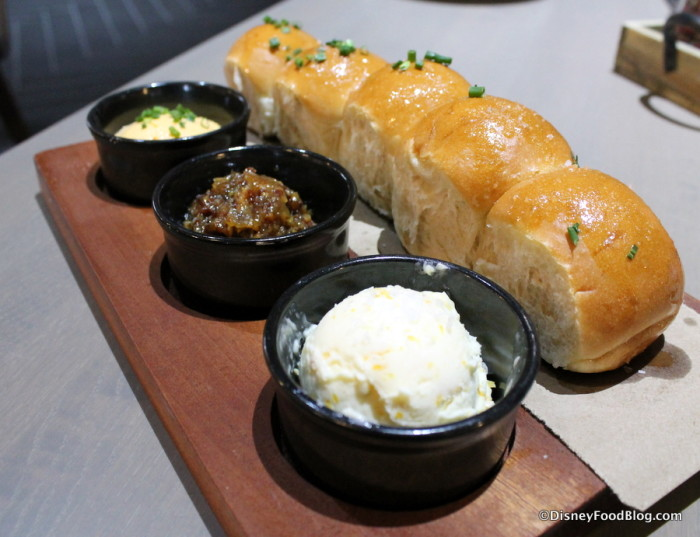 Parker House Rolls and Spreads