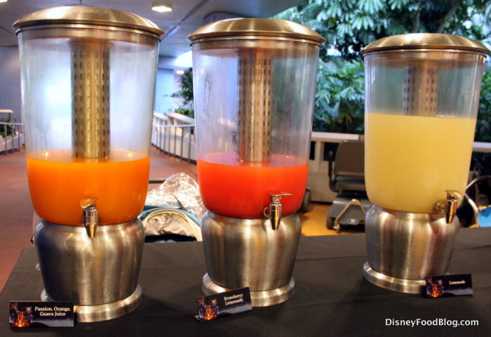 Fruity Drink Options
