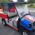 Refreshment Carts with Character at Disney World Golf Courses