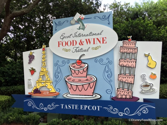 Epcot's International Food and Wine Festival