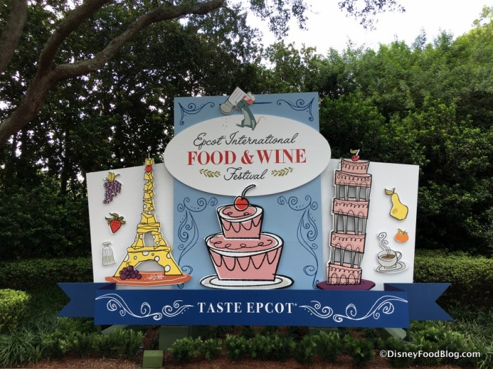 The Epcot International Food and Wine Festival