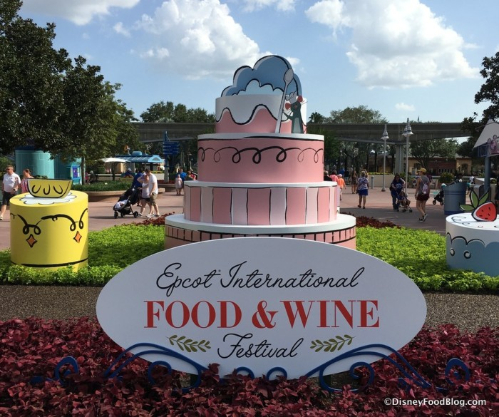 2017 Epcot Food and Wine
