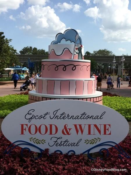2017 Epcot International Food and Wine Festival Logo