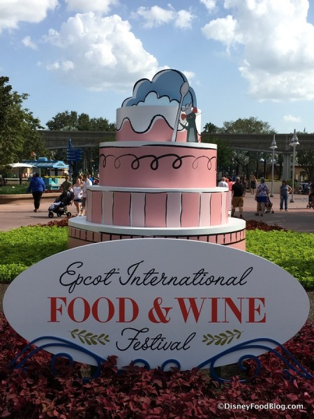 2017 Epcot International Food and Wine Festival Logo