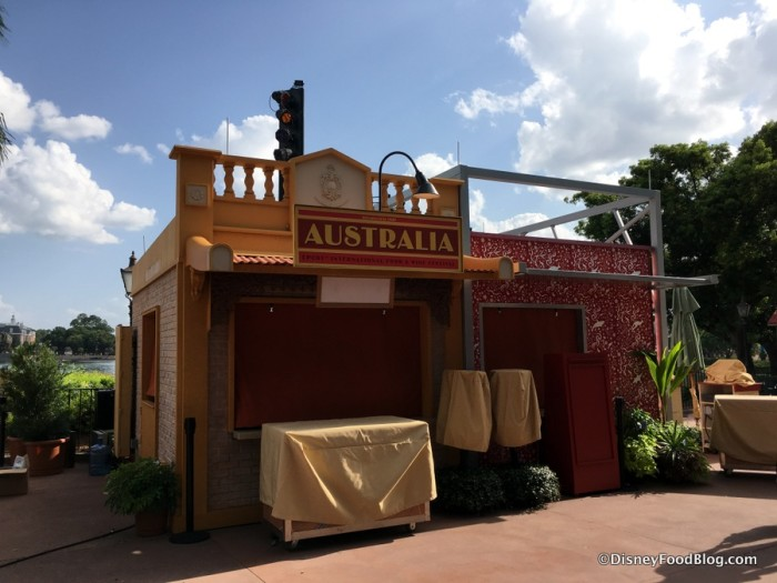 2017 Epcot Food and Wine Festival Australia Booth