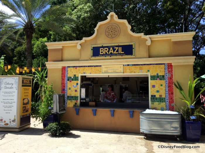 2017 Epcot Food and Wine Festival Brazil Booth 1