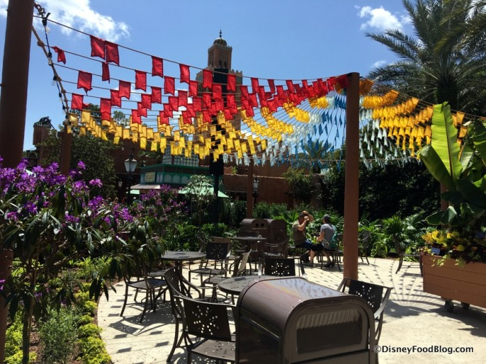 2017 Epcot Food and Wine Festival Brazil Booth 2