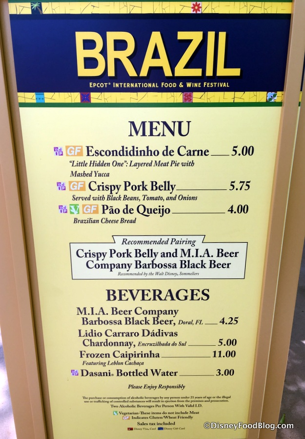 Epcot Food And Wine Gluten Free