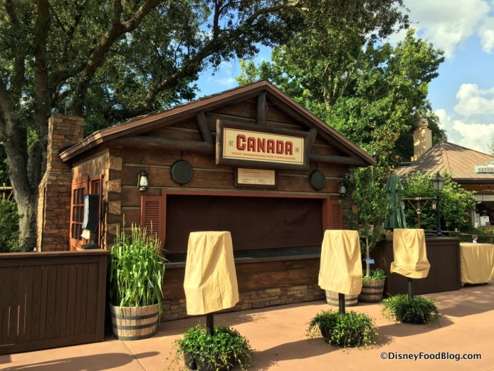 2017 Epcot Food and Wine Festival Canada Booth