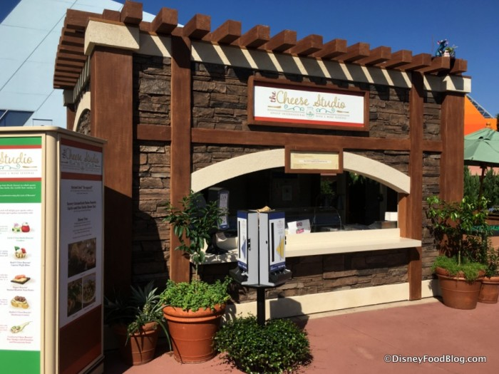 2017 Epcot Food and Wine Festival Cheese Studio Booth