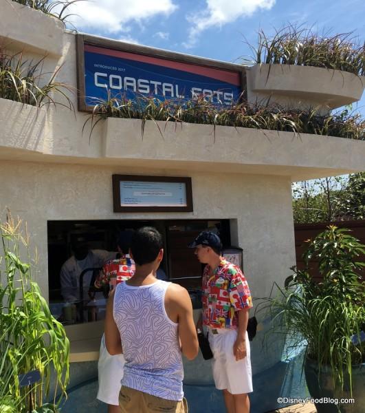 2017 Epcot Food and Wine Festival Coastal Eats Booth