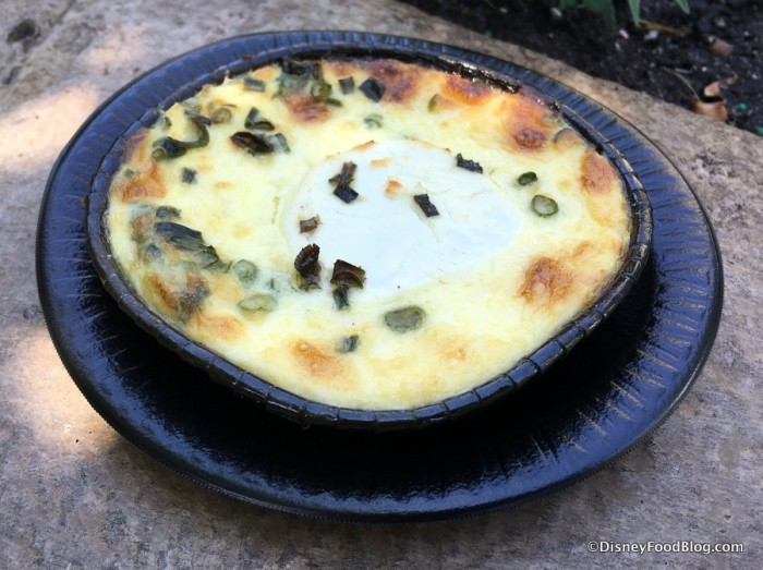 Warm Goat Cheese Pudding