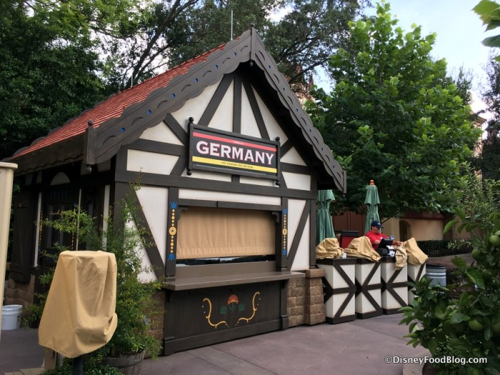 2017 Epcot Food and Wine Festival Germany Booth