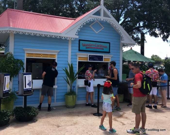 2017 Epcot Food and Wine Festival Islands of the Caribbean Booth