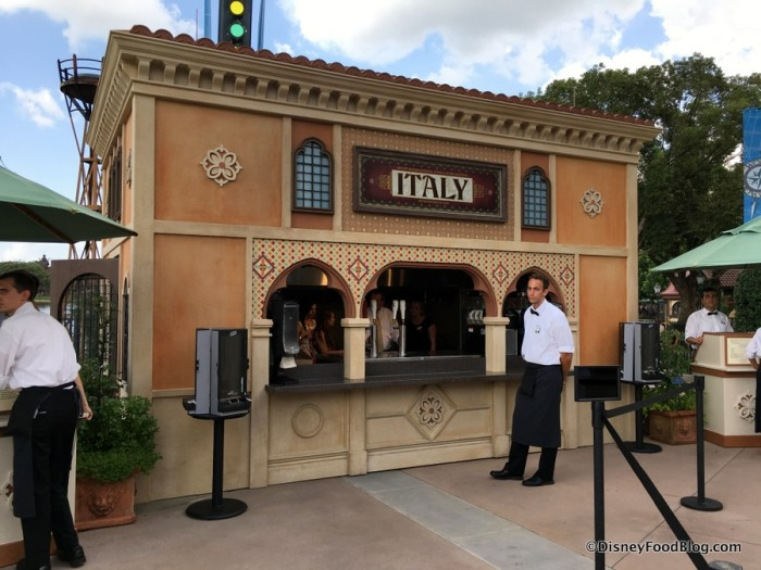 2017 Epcot Food and Wine Festival Italy Booth