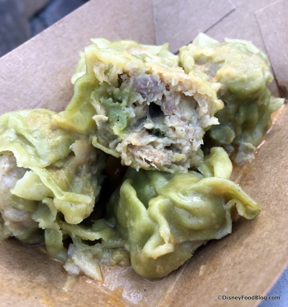 Wasabi Shumai Steamed Pork Dumplings