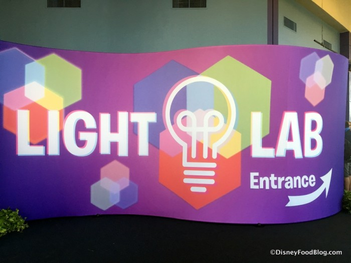 Light Lab Entrance