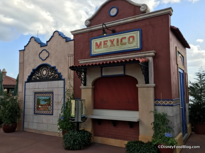 2017 Epcot Food and Wine Festival Mexico Booth