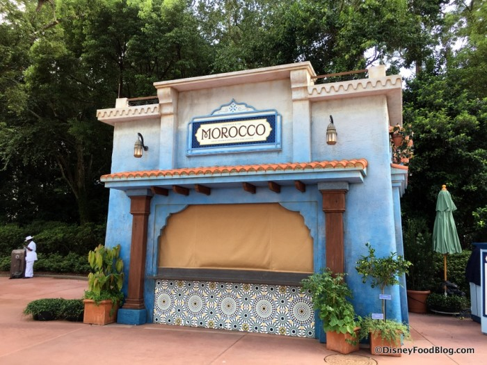 2017 Epcot Food and Wine Festival Morocco Booth