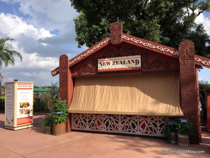 2017 Epcot Food and Wine Festival New Zealand Booth