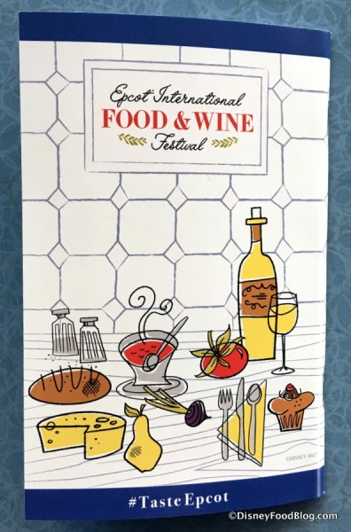 2017's Food and Wine Festival Passport