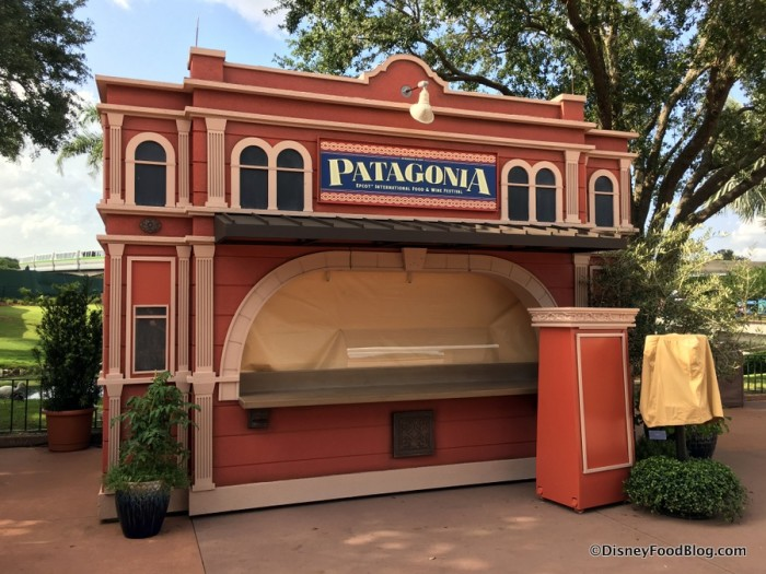 2017 Epcot Food and Wine Festival Patagonia Booth