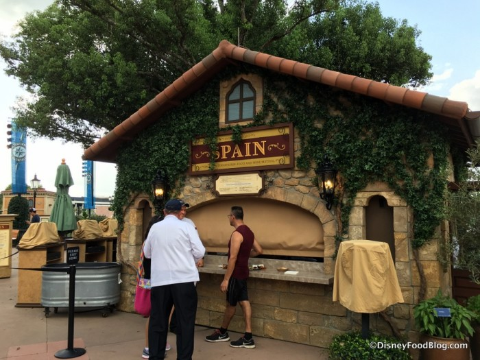 2017 Epcot Food and Wine Festival Spain Booth