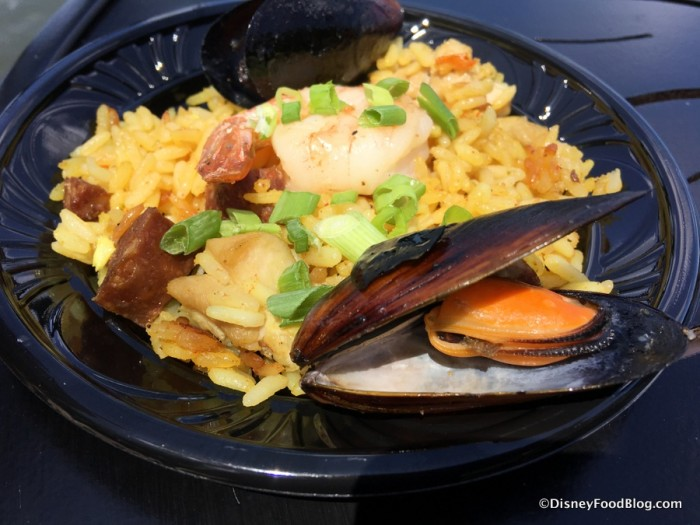 Paella from Spain's 2017 booth