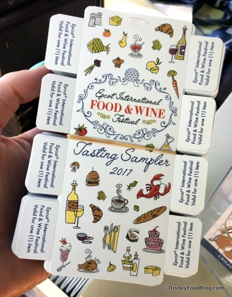 2017 Festival Tasting Sampler