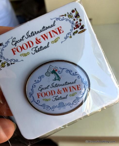 2017 Festival Tasting Sampler Pin