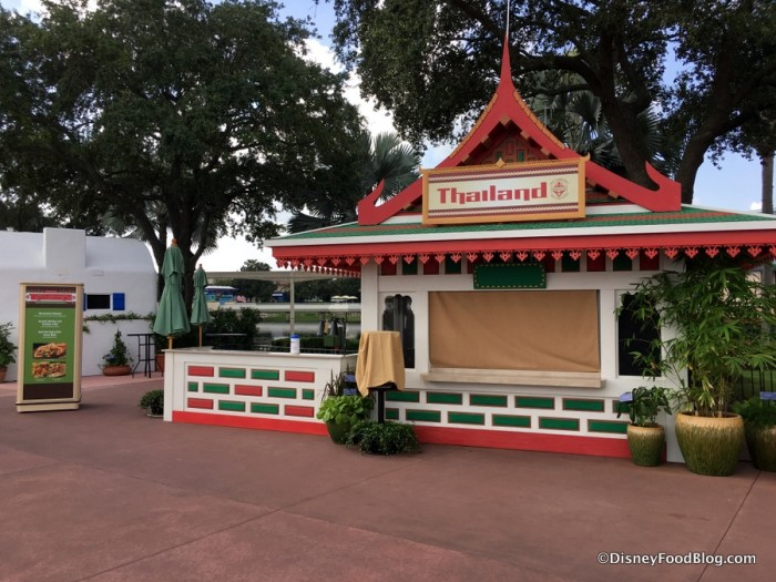 2017 Epcot Food and Wine Festival Thailand Booth
