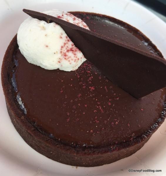 Sweet Dark Chocolate Raspberry Torte