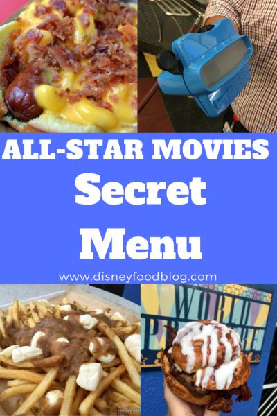 All Star Movies Resort SECRET MENU in Walt Disney World!!!