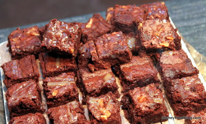 Caramel Turtle Brownies