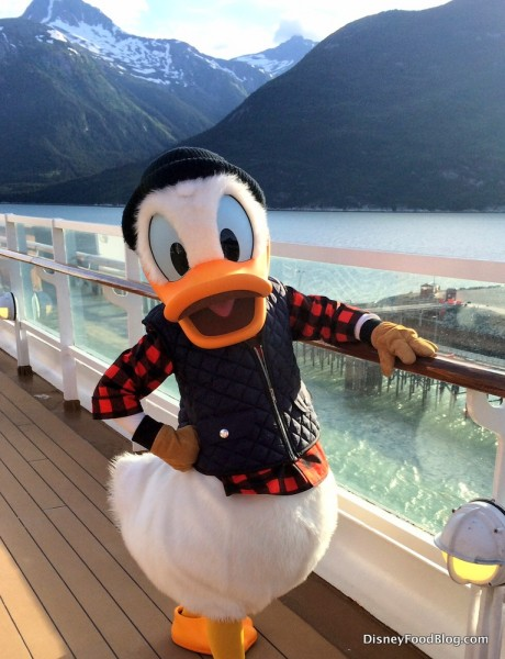 Will you be setting sail with Donald Duck?