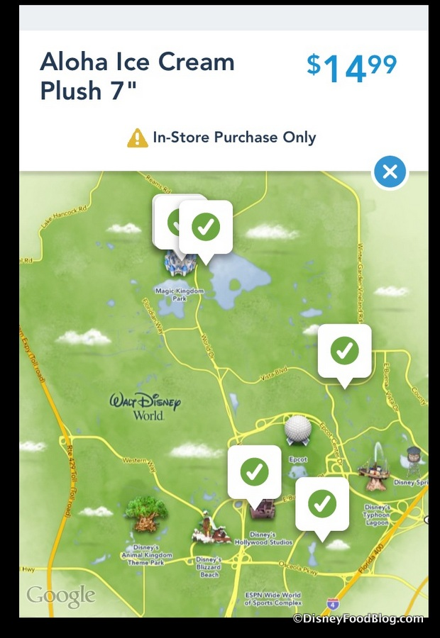 Shop Disney Parks app Screenshot