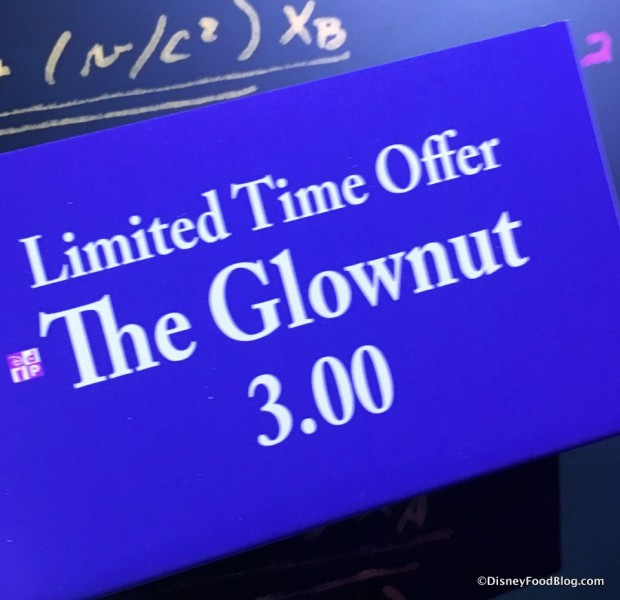 Limited Time Glownut 2017 Epcot Food and Wine Festival Light Lab 1