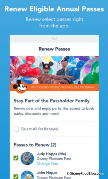 My Disney Experience App screenshot