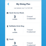 News: Disney Dining Plan Credit Tracking Added to My Disney Experience App