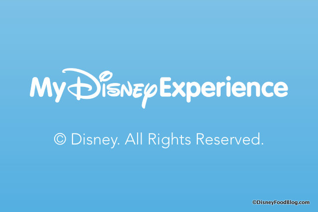 My Disney Experience App screenshot