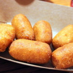 Queso Blancooooooooo + Corn Dog Nuggets at Pecos Bill Tall Tale Inn and Cafe
