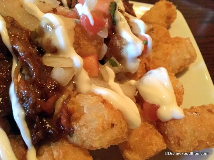 Loaded Potato Puffs