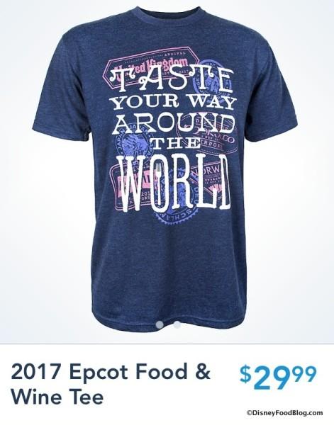 Taste Your Way Around the World T-shirt