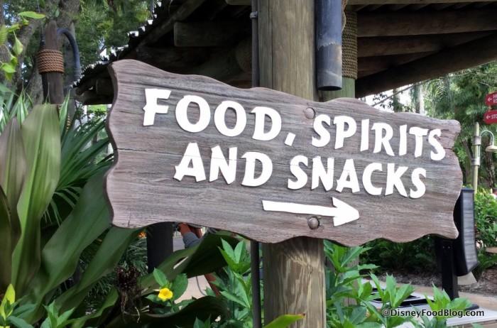 Food, Spirits, and Snacks