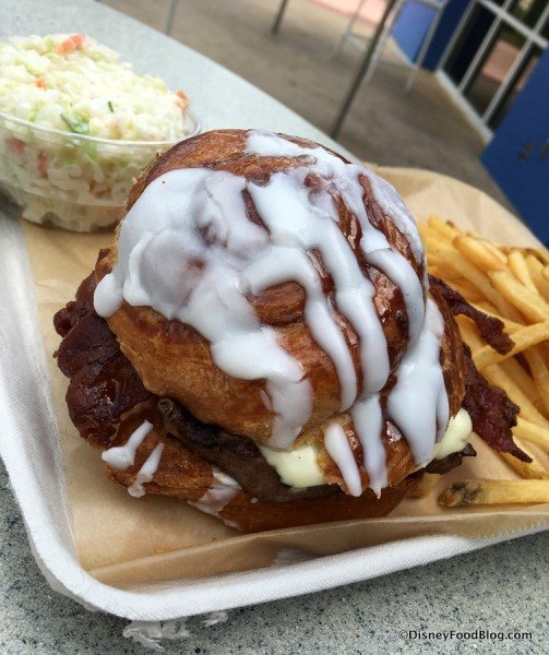 Cinnamon Bun Burger